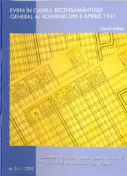 """Caietele Institutului Naţional pentru Studierea Holocaustului din România """"Elie Wiesel"""", Nr. 4/2008"""