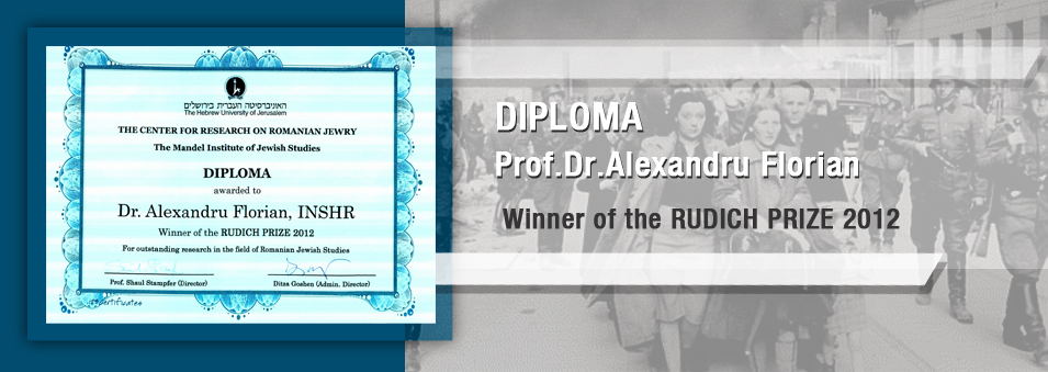 Premiu - The Center for Research on Romanian Jewey